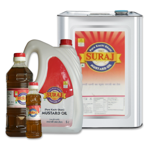 Suraj Mustard Oil, White Sesame Oil in Ahmedabad, Gujarat