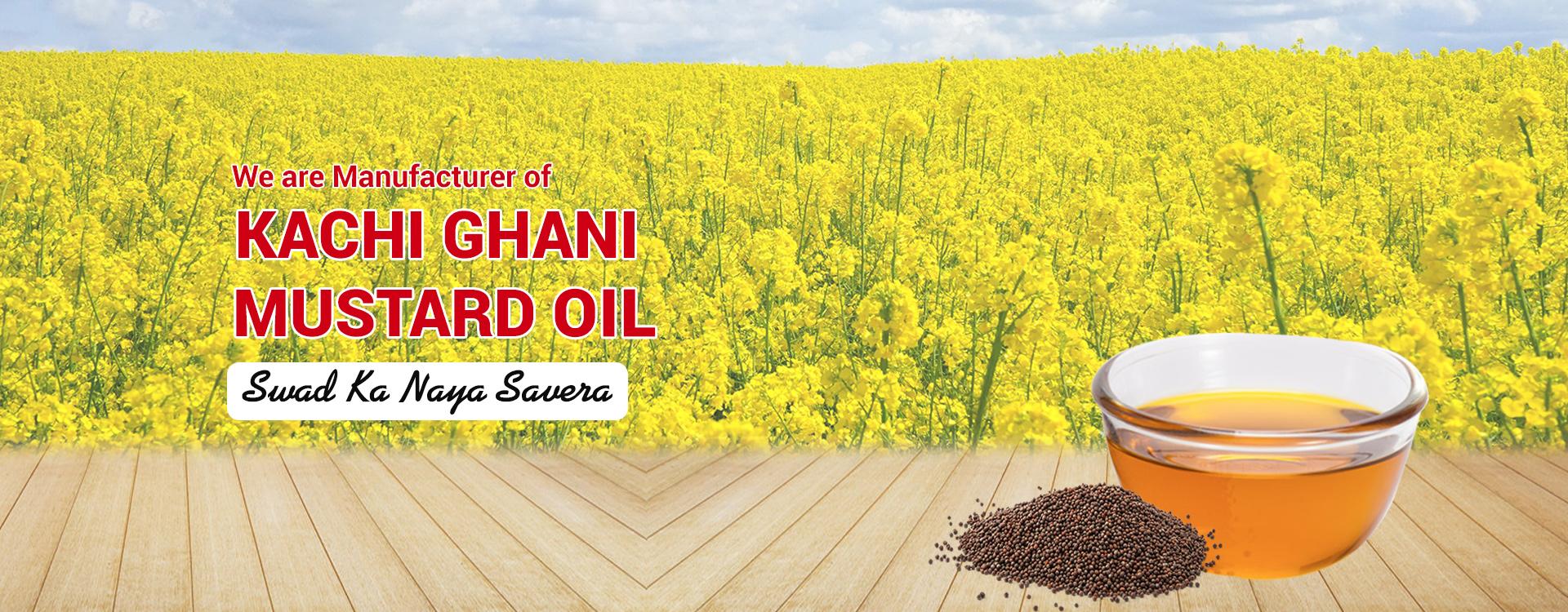 Kachi Ghani Mustard Oil, Cooking Oil Supplier